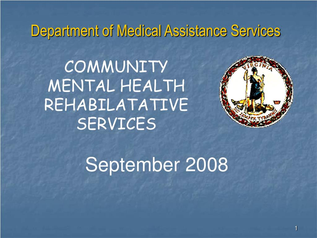 department of medical assistance services l.