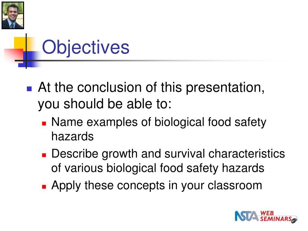 PPT - FDA/NSTA Web Seminar: Teach Science Concepts and