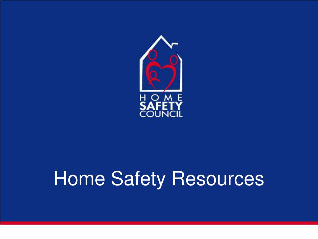 Home Safety Resources