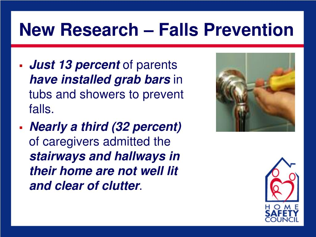 New Research – Falls Prevention