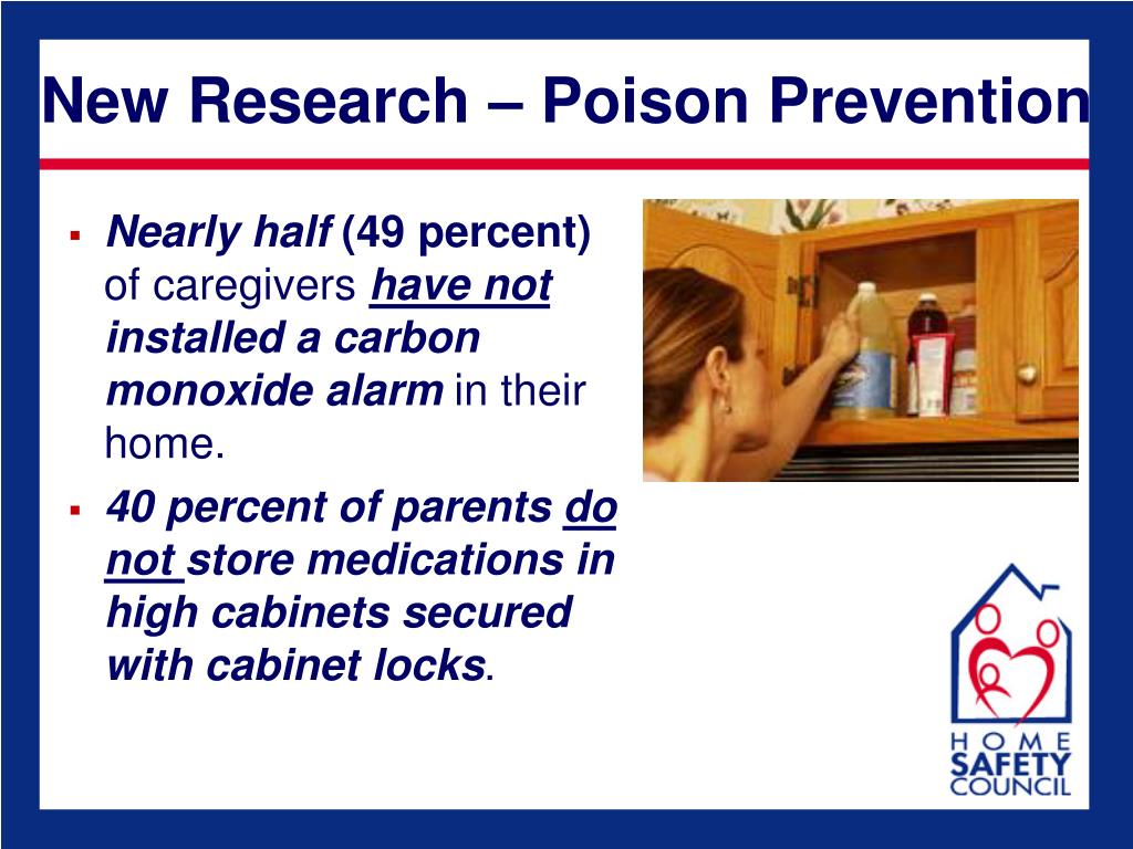 New Research – Poison Prevention