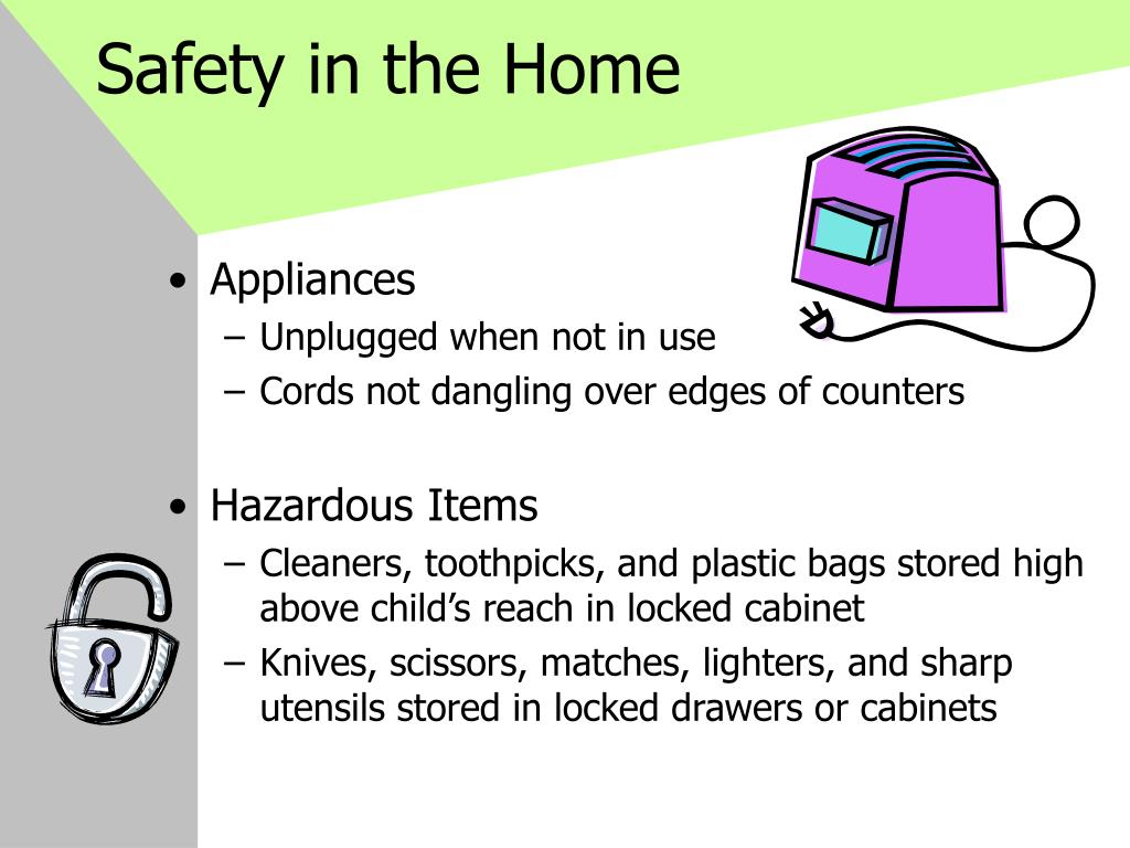 Safety in the Home