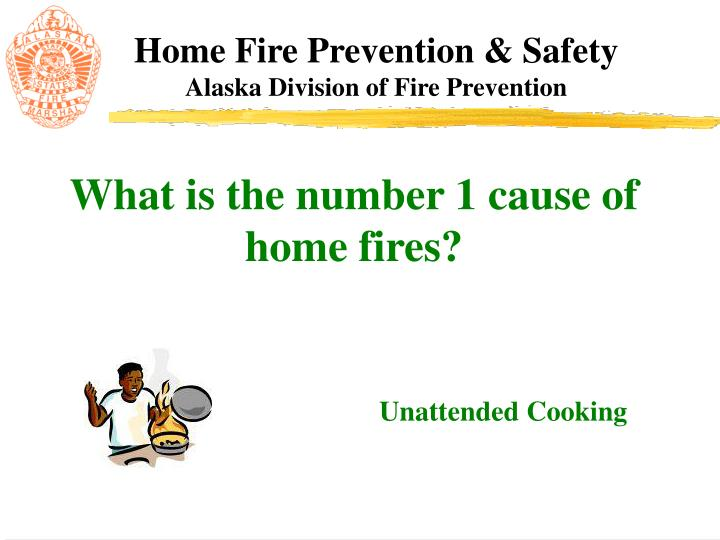 What is the number 1 cause of home fires