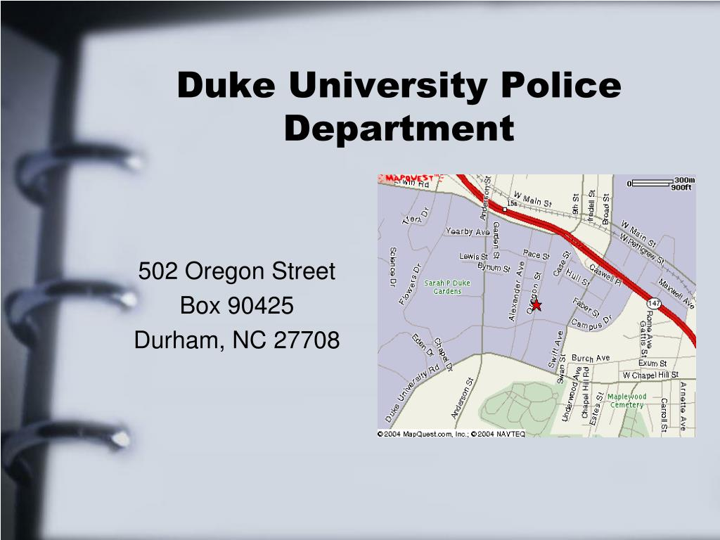 Duke University Police Department