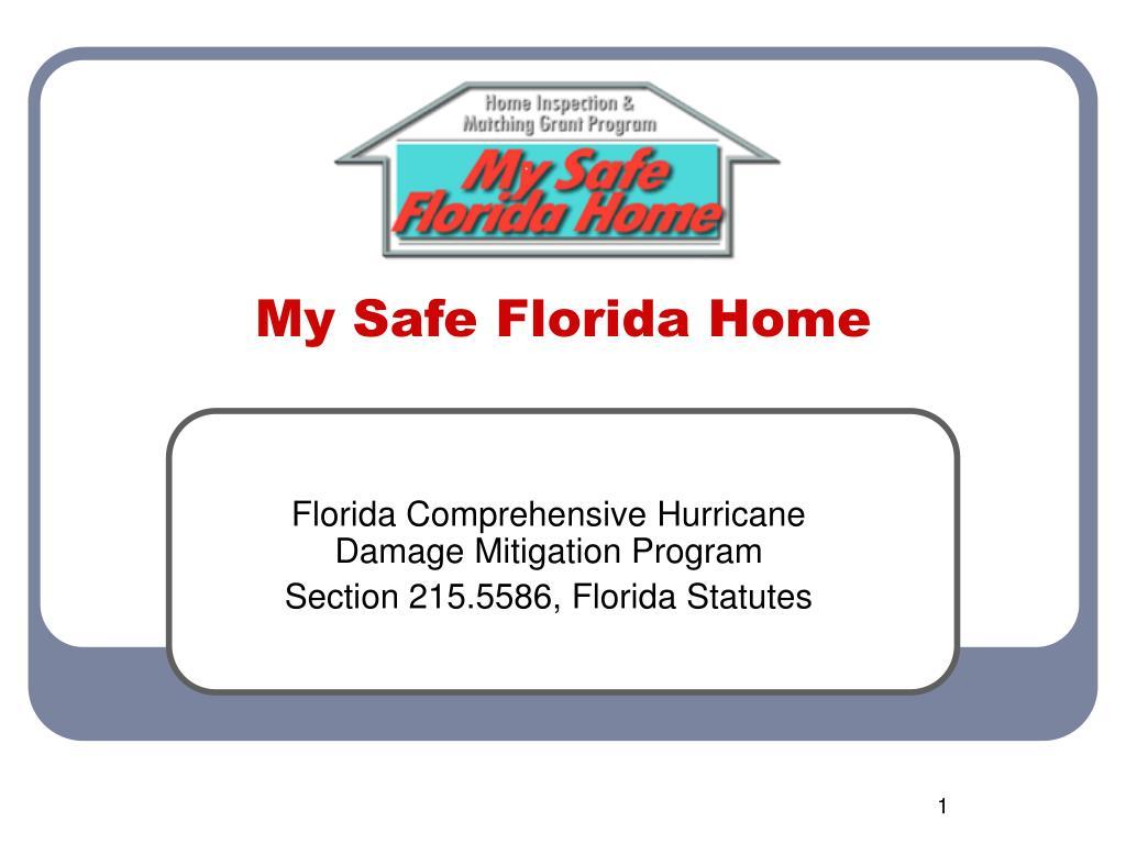 my safe florida home l.