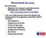 homeland security98