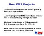 new ems projects