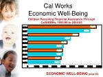 cal works economic well being