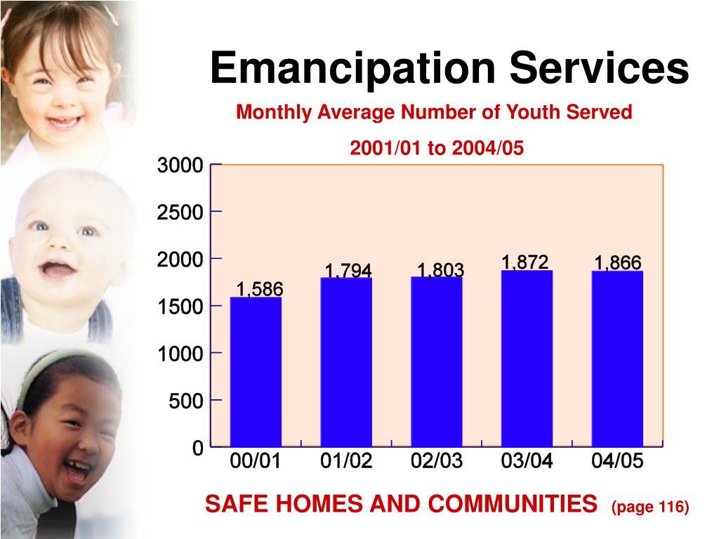 Emancipation Services