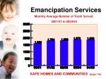 emancipation services