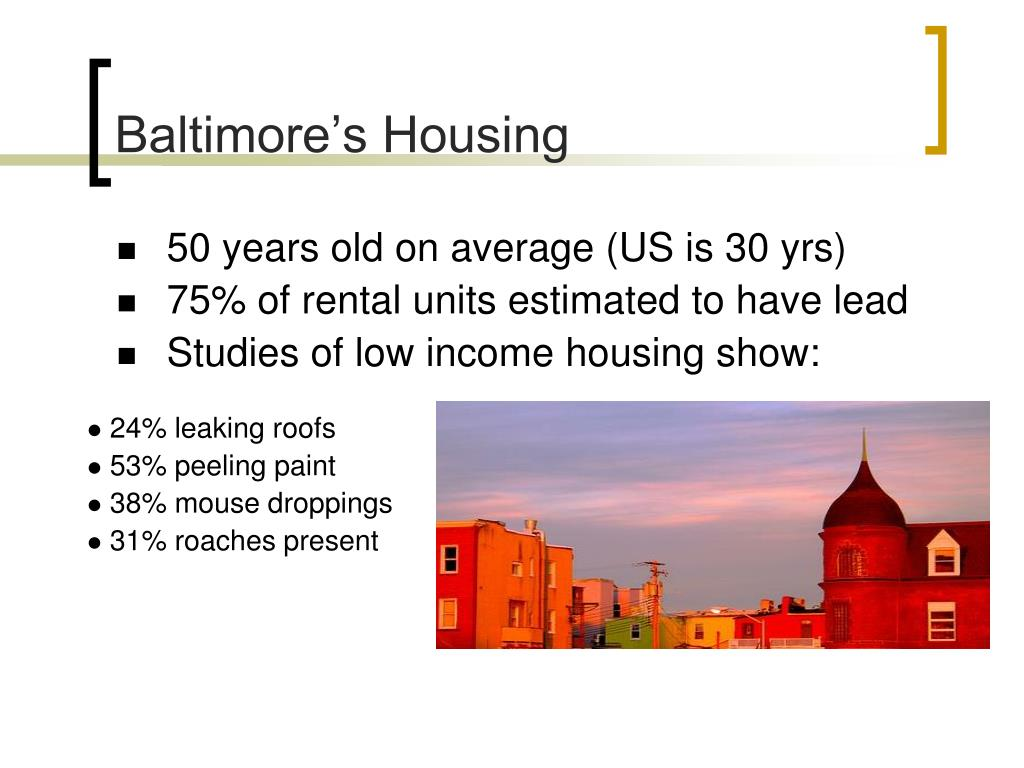 Baltimore's Housing