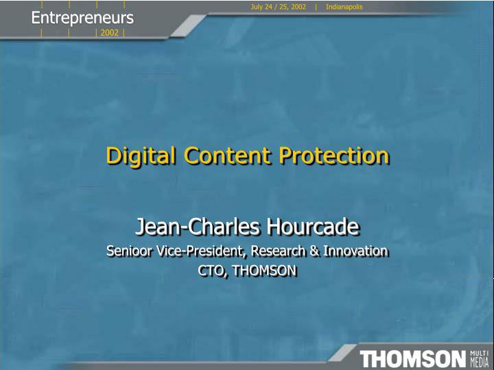 digital content protection n.