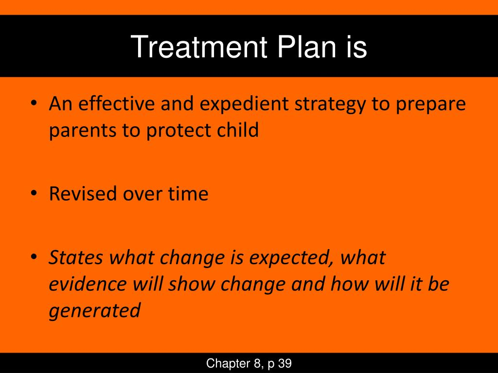 Treatment Plan is