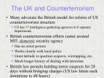 the uk and counterterrorism