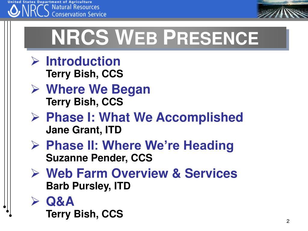 NRCS W