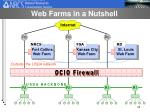 web farms in a nutshell