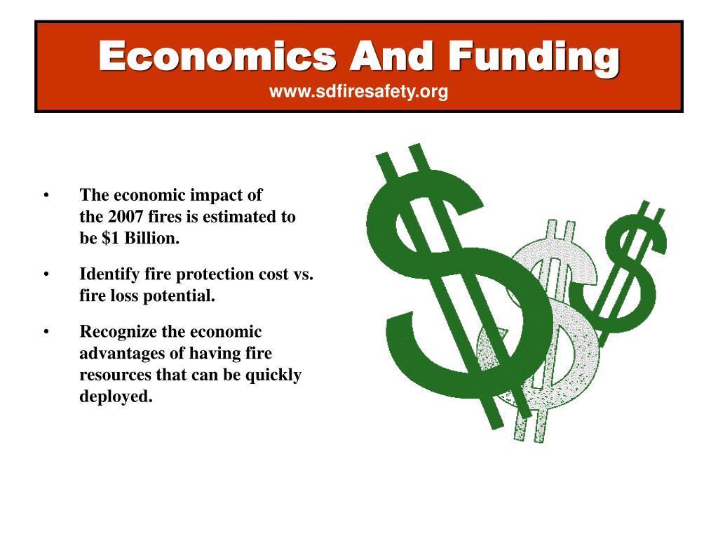 Economics And Funding