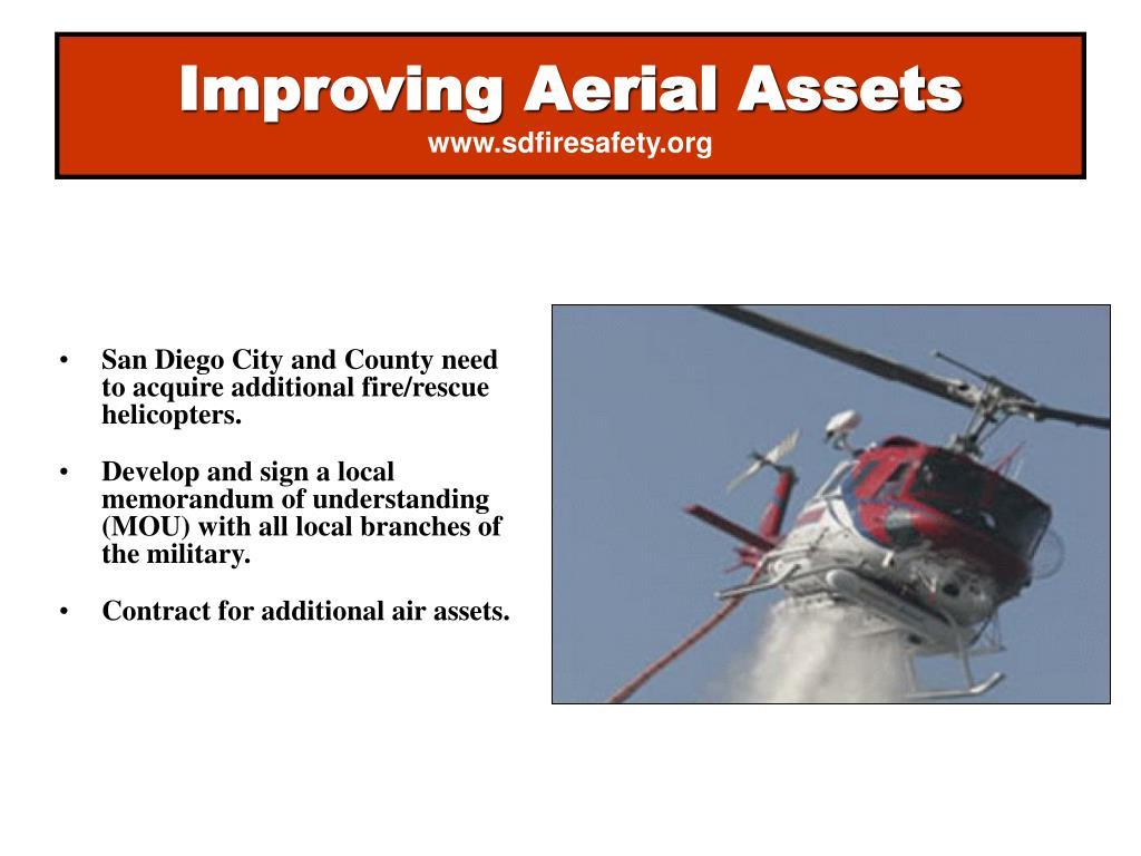 Improving Aerial Assets