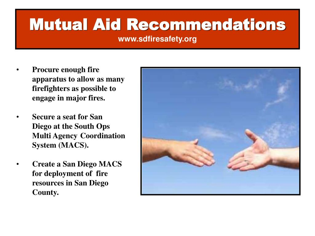 Mutual Aid Recommendations