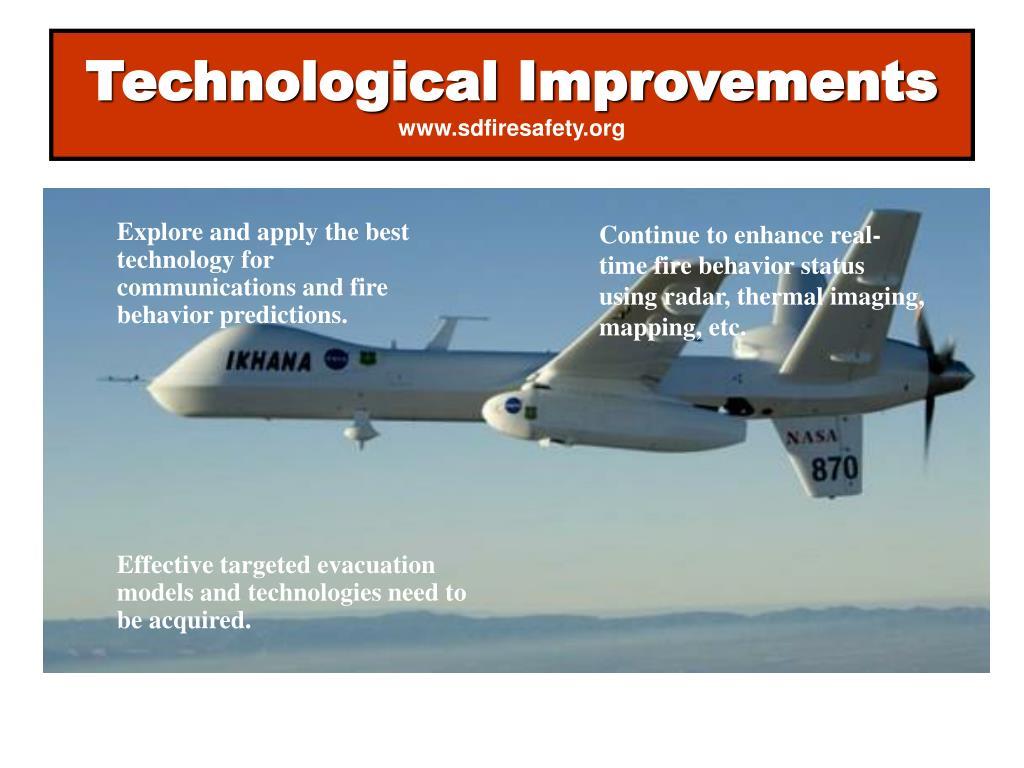 Technological Improvements