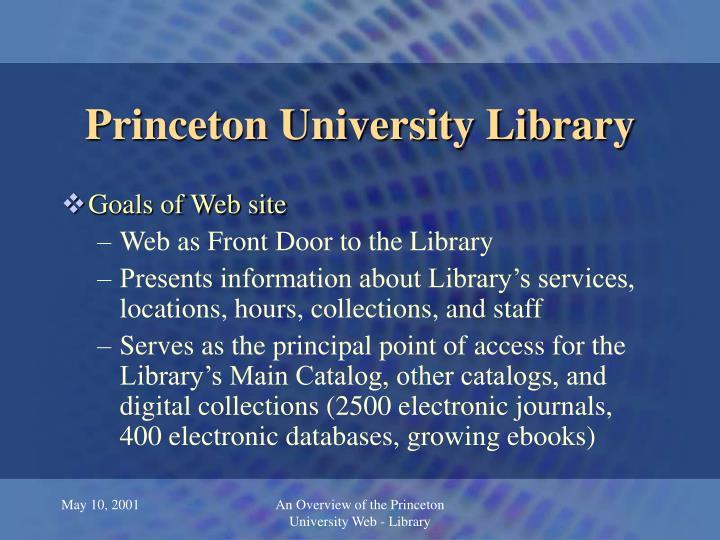 Princeton university library2