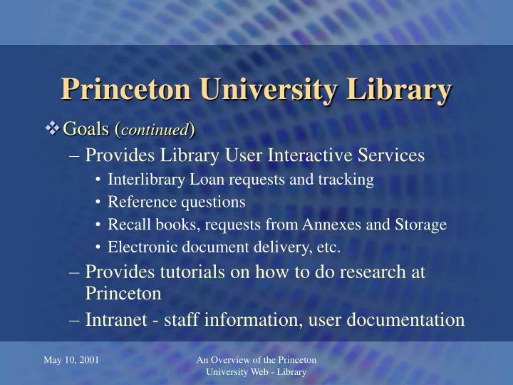 Princeton university library3