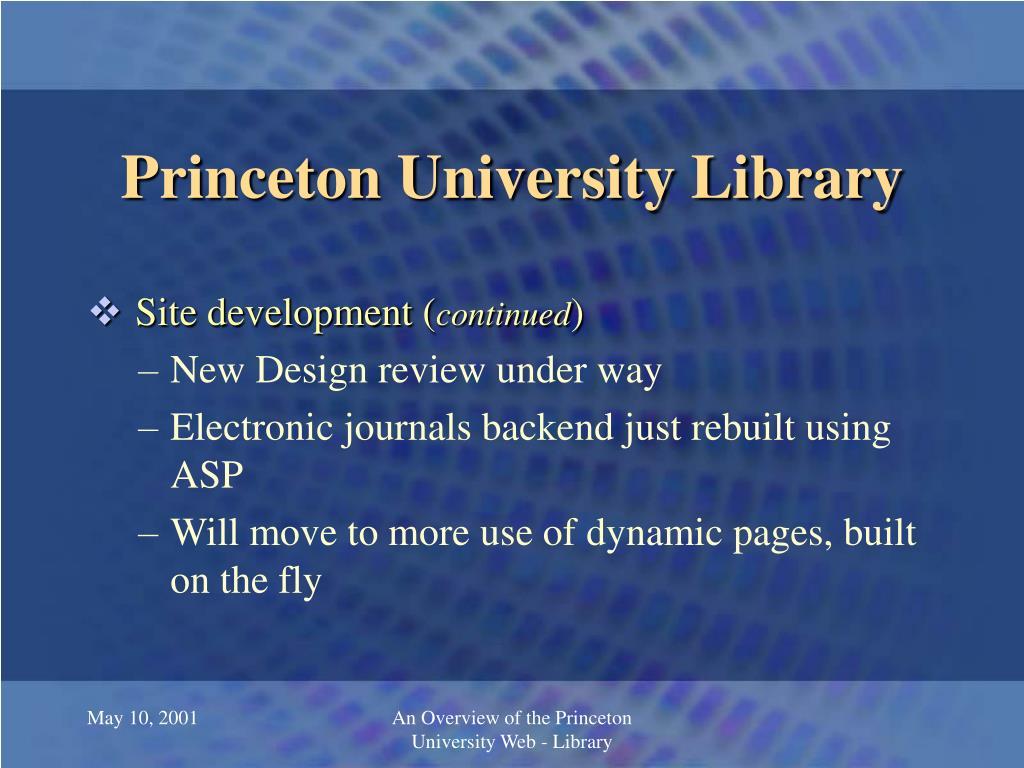 Princeton University Library