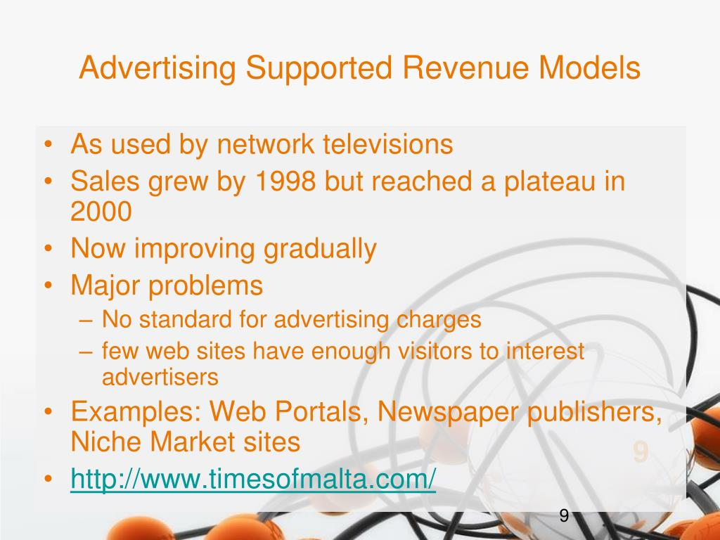 Advertising Supported Revenue Models