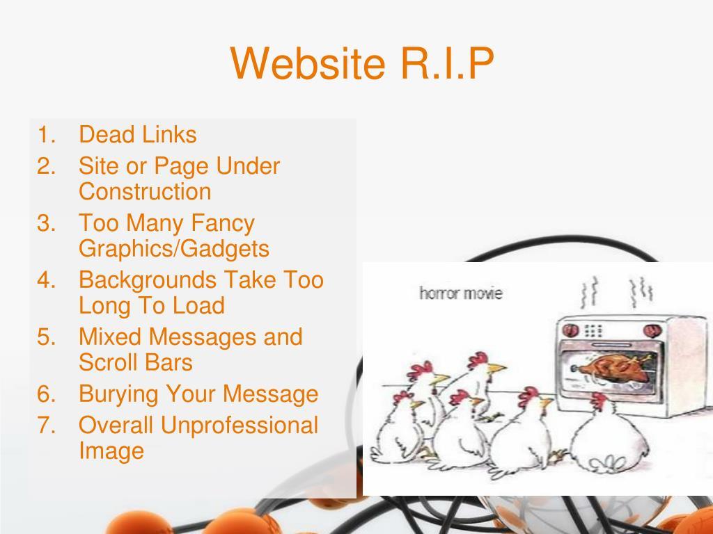 Website R.I.P