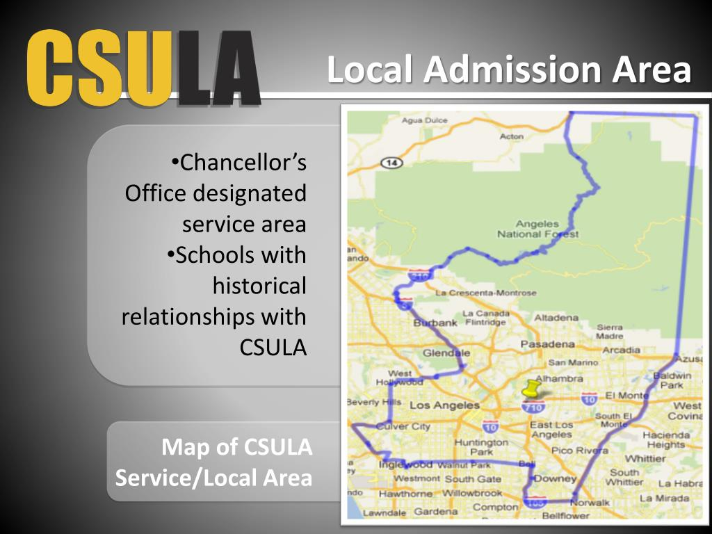PPT - CSULA Office of Admissions and Recruitment admission ...