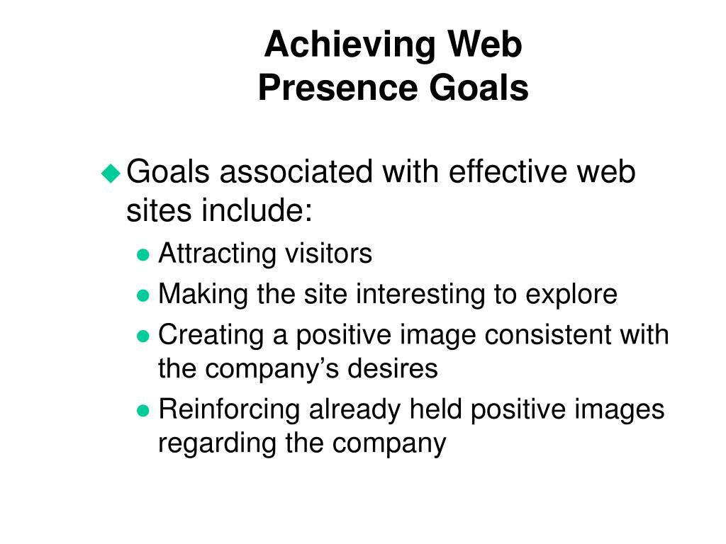 Achieving Web