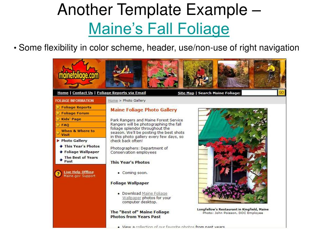 Another Template Example –