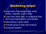 marketing helps