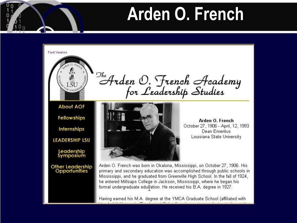Arden O. French