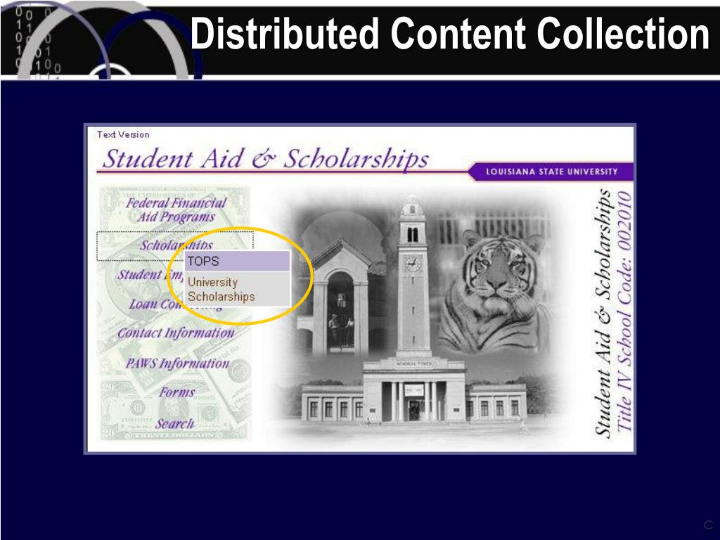 Distributed Content Collection