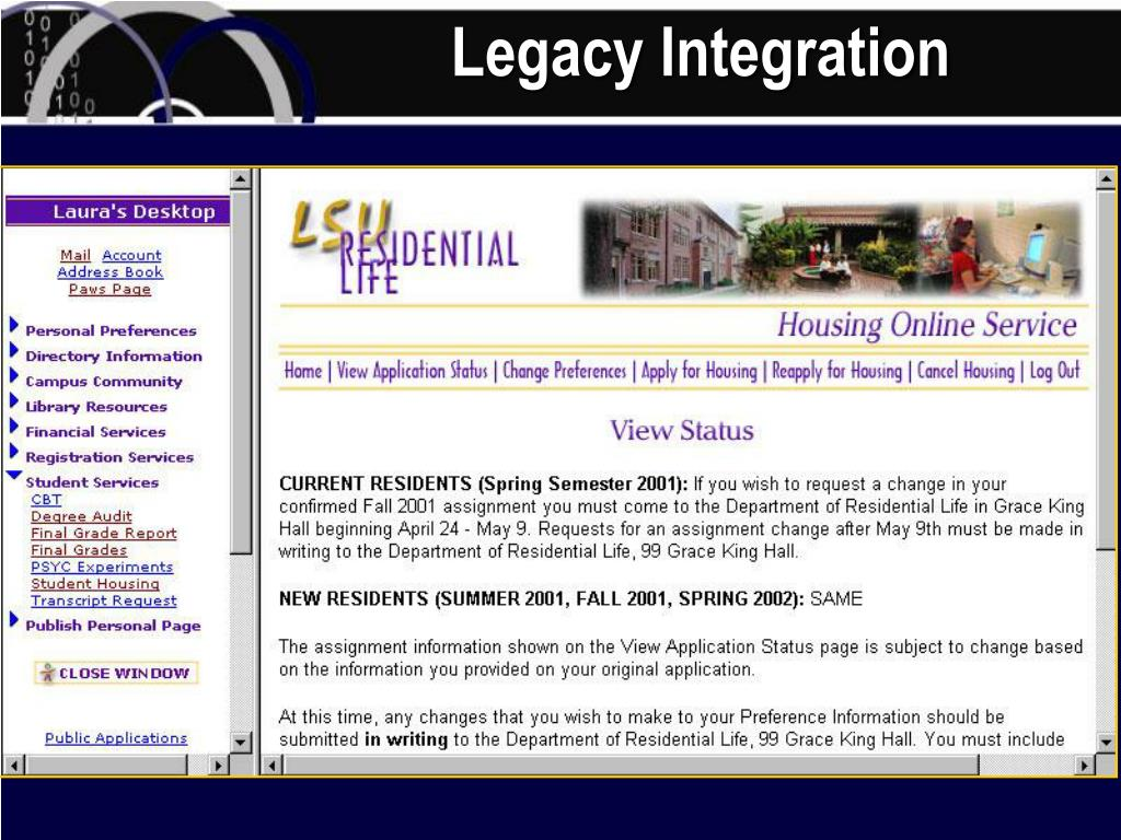 Legacy Integration