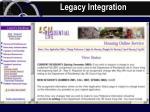 legacy integration62