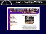 union graphics version