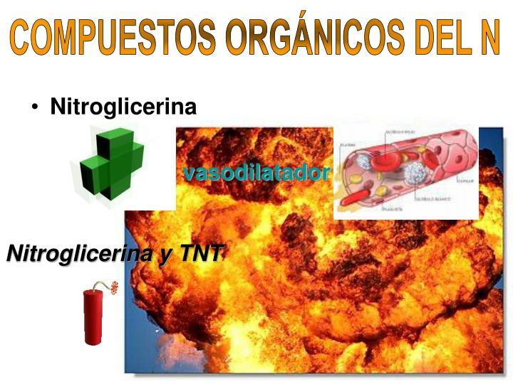 COMPUESTOS ORGÁNICOS DEL N