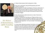dr hatem al karanshawy qfis founding dean