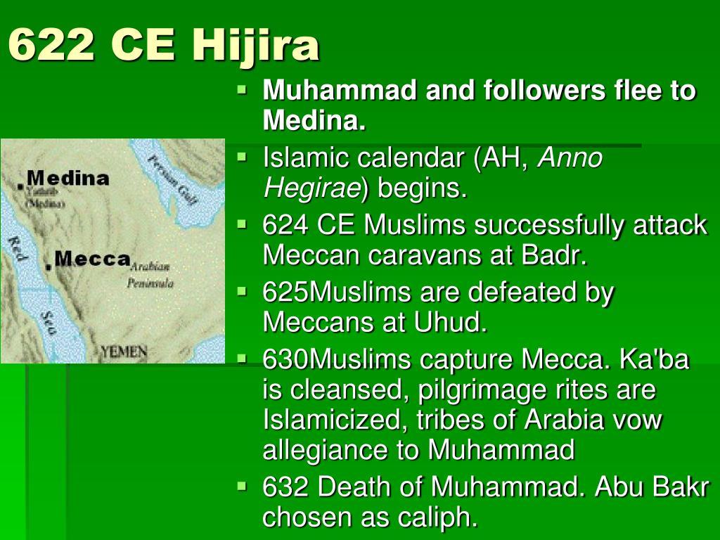 622 CE Hijira