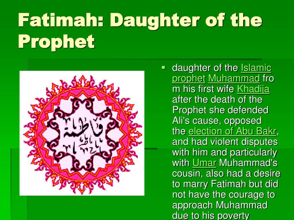 Fatimah: Daughter of the Prophet