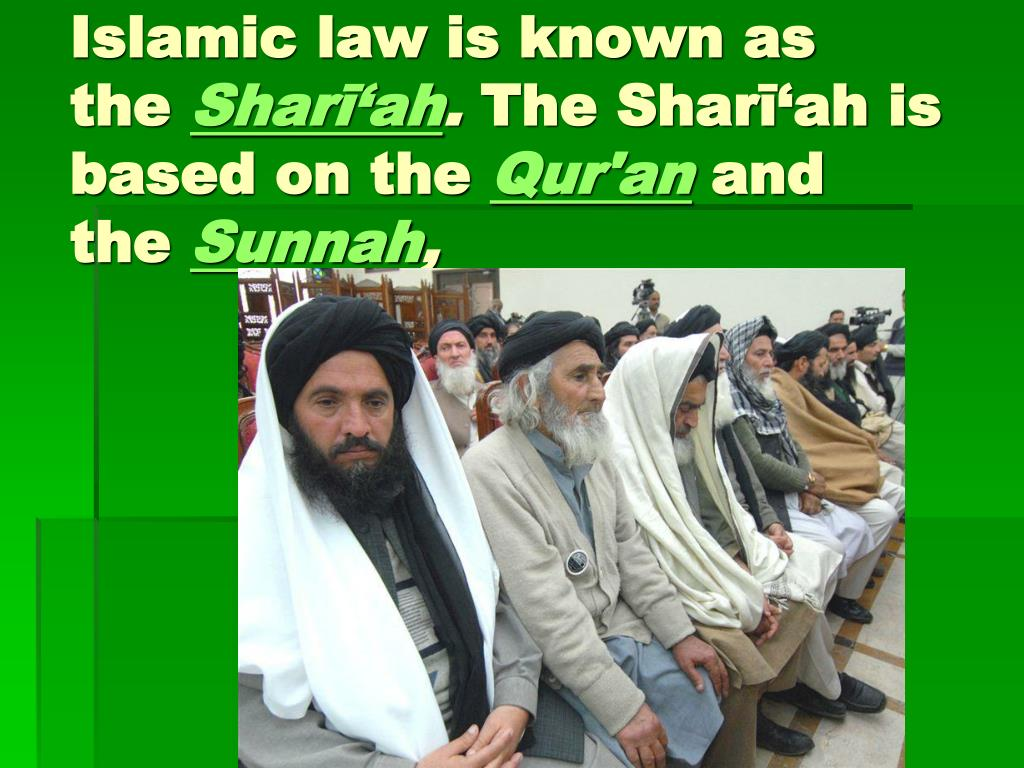Islamic law is known as the