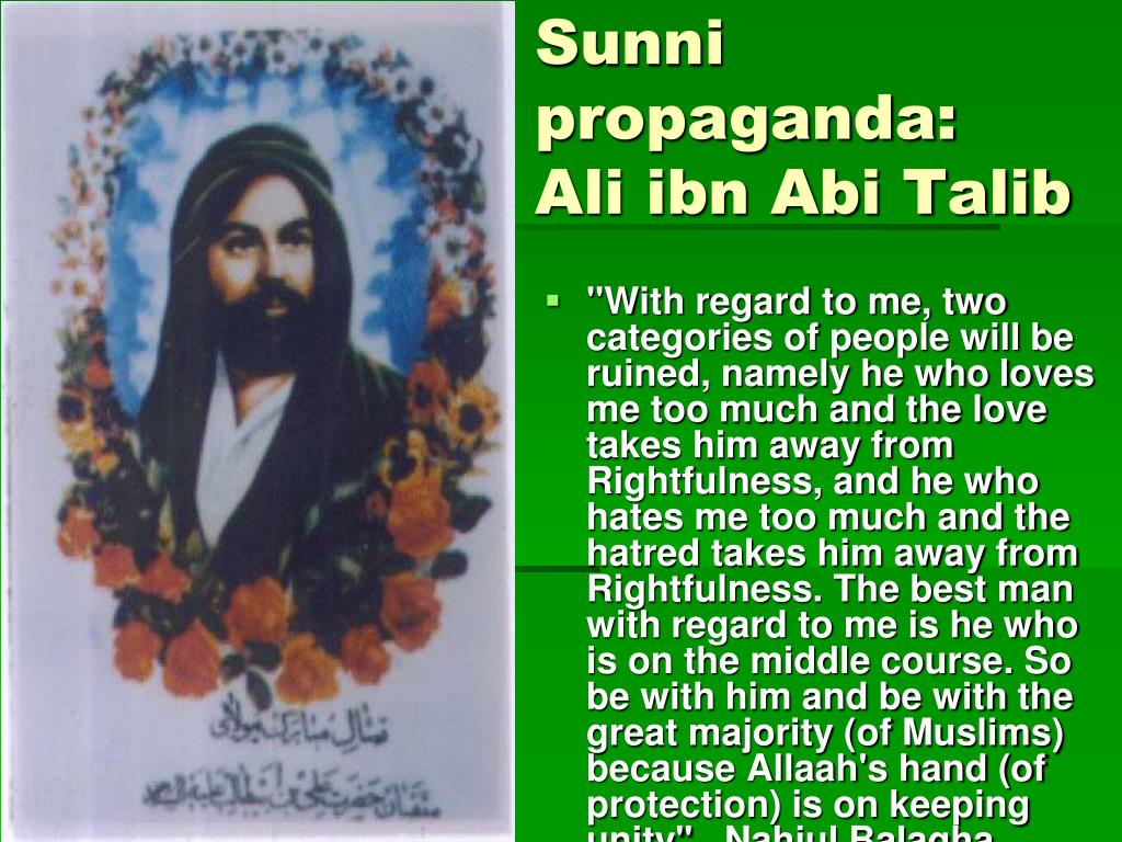 Sunni propaganda:
