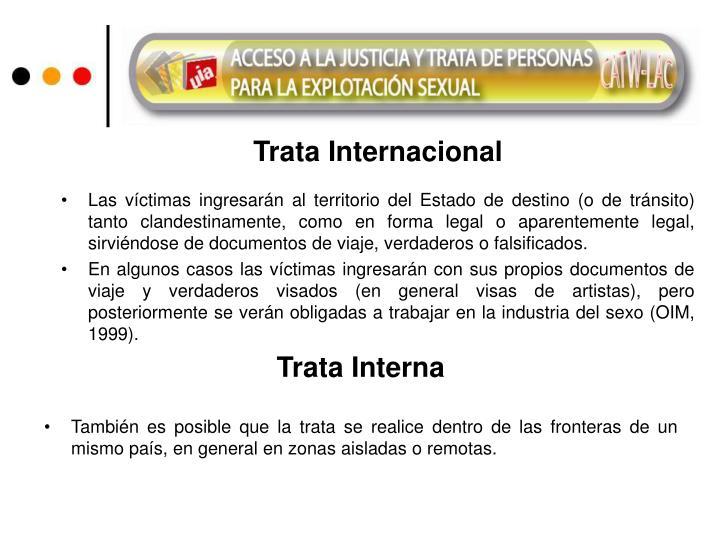 Trata Internacional