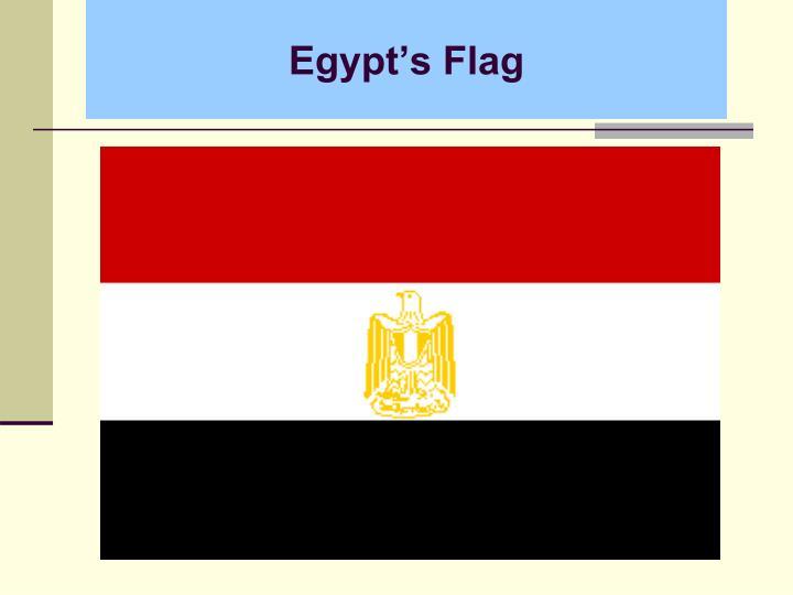 Egypt s flag