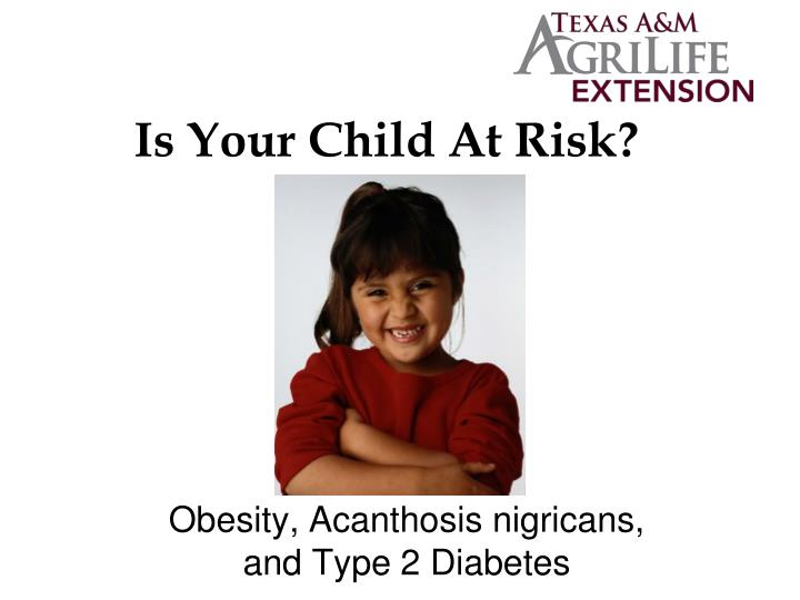 is your child at risk n.