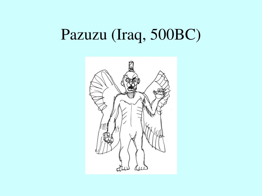 Pazuzu (Iraq, 500BC)