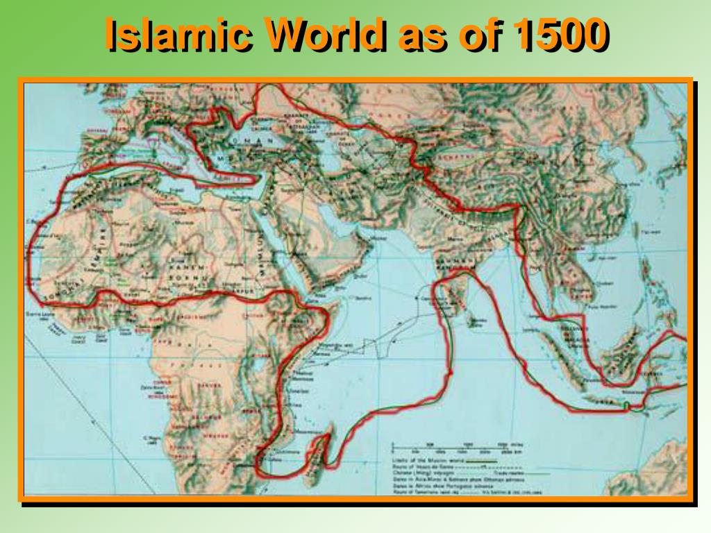 Islamic World as of 1500