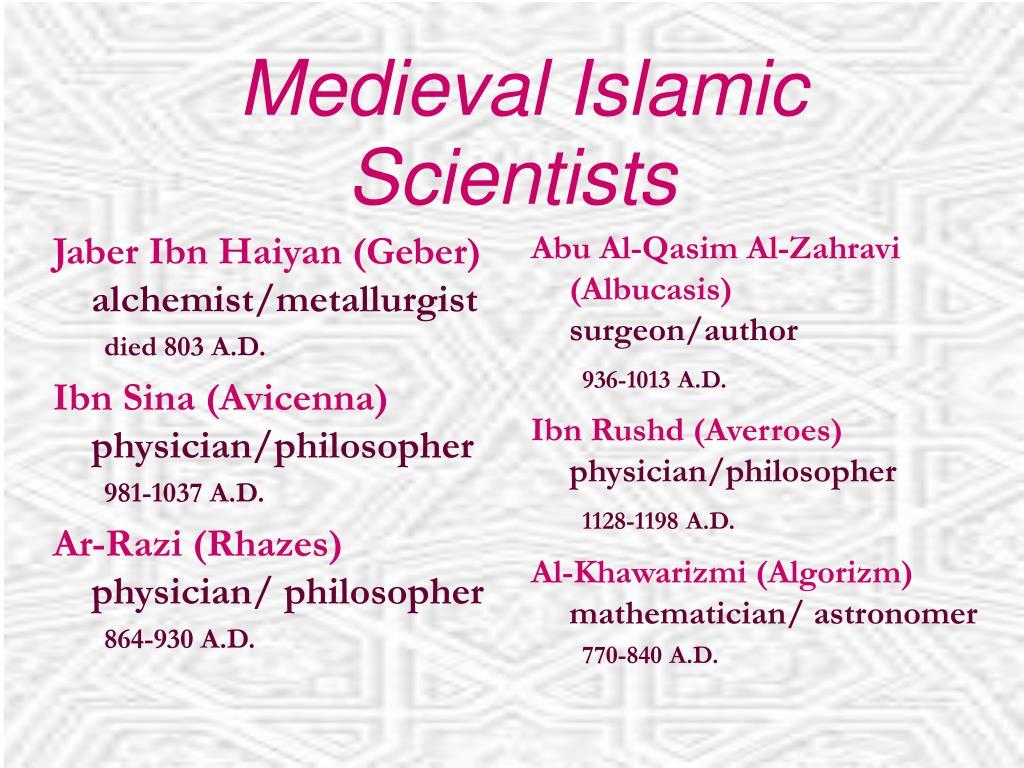 Jaber Ibn Haiyan (Geber)
